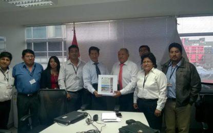 Gobernador regional presentó informe de verificación de viabilidad al MEF.