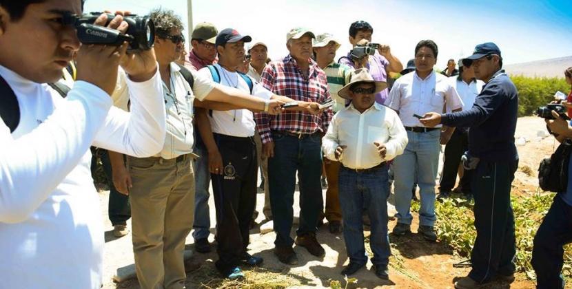 Gerente de Pasto Grande sustento ante consejo regional sobre parcela T.