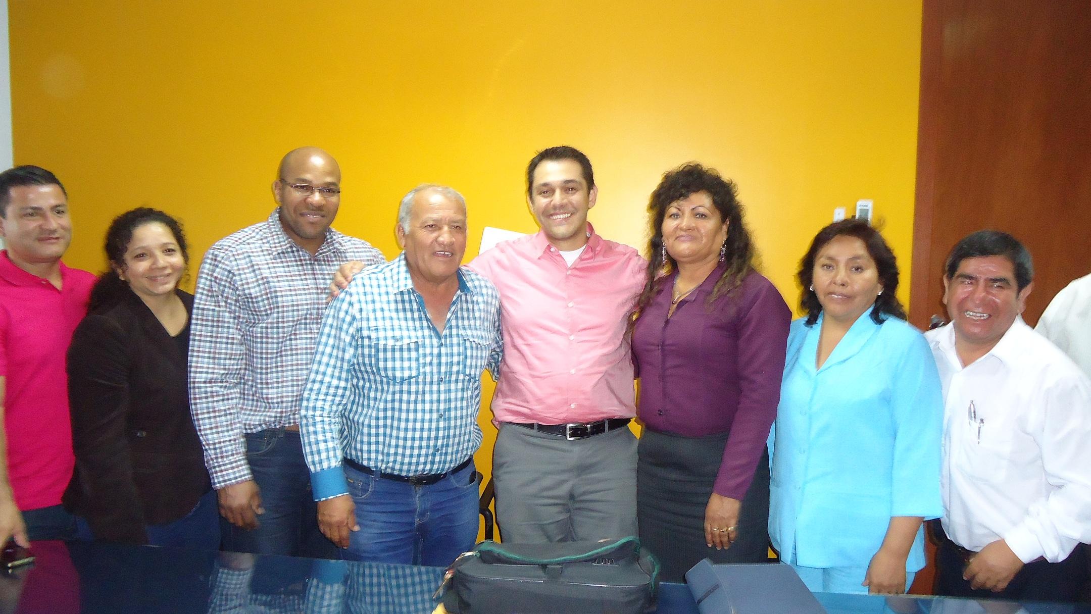DRE Moquegua promueve convenio de institutos CFAM y Luis E. Valcárcel de Ilo con Cooperación Canadiense.