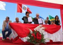 Firman convenio para estudios de proyecto Ampliación de Malecón Costero.