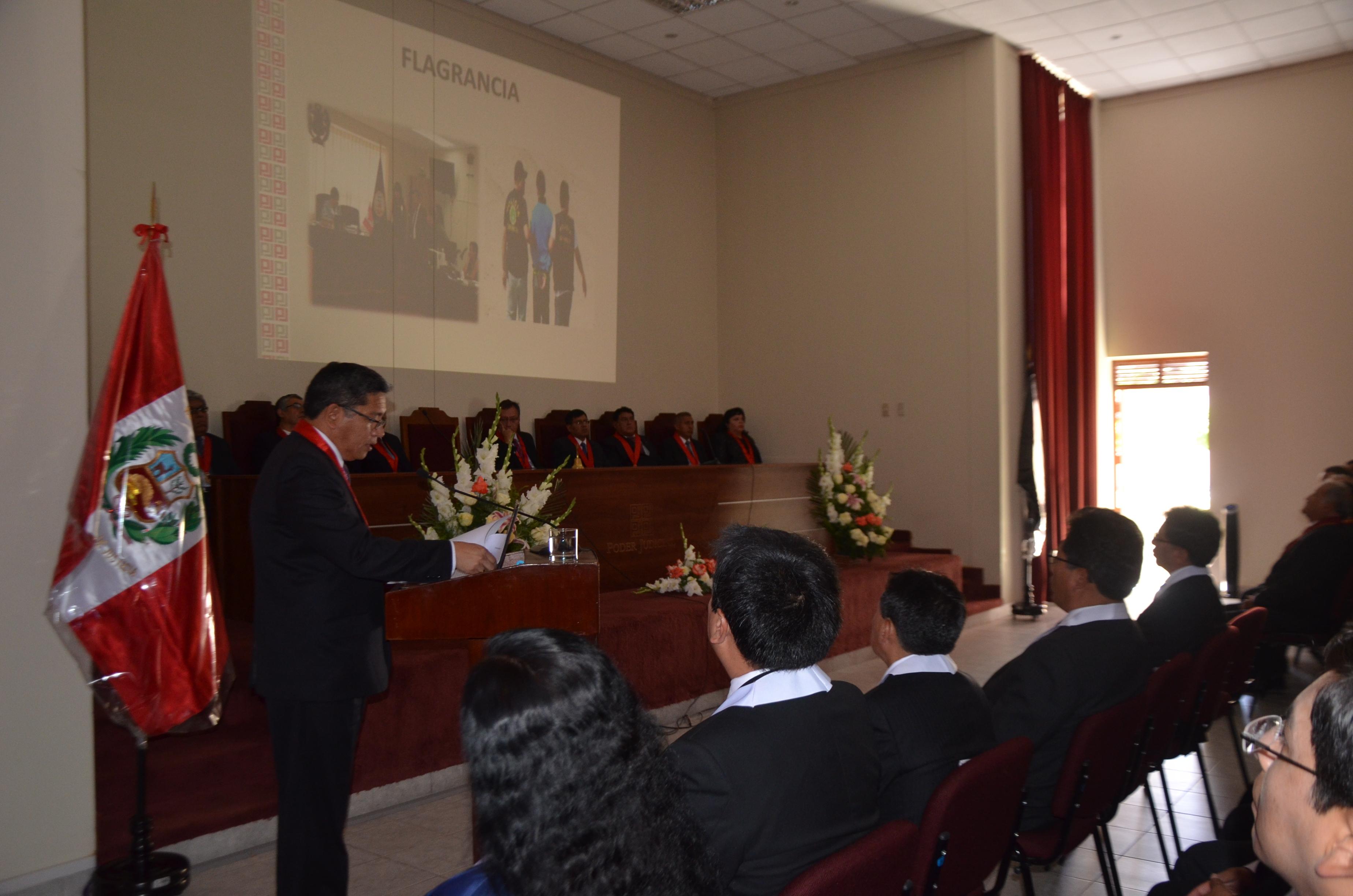 Inauguran agencia del BN en instalaciones de corte de Moquegua.