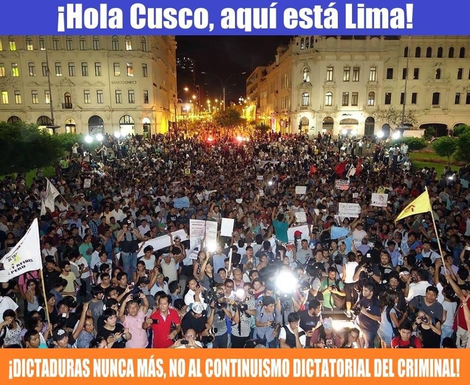 Anuncian marcha de protesta para el 5 de abril a nivel nacional.