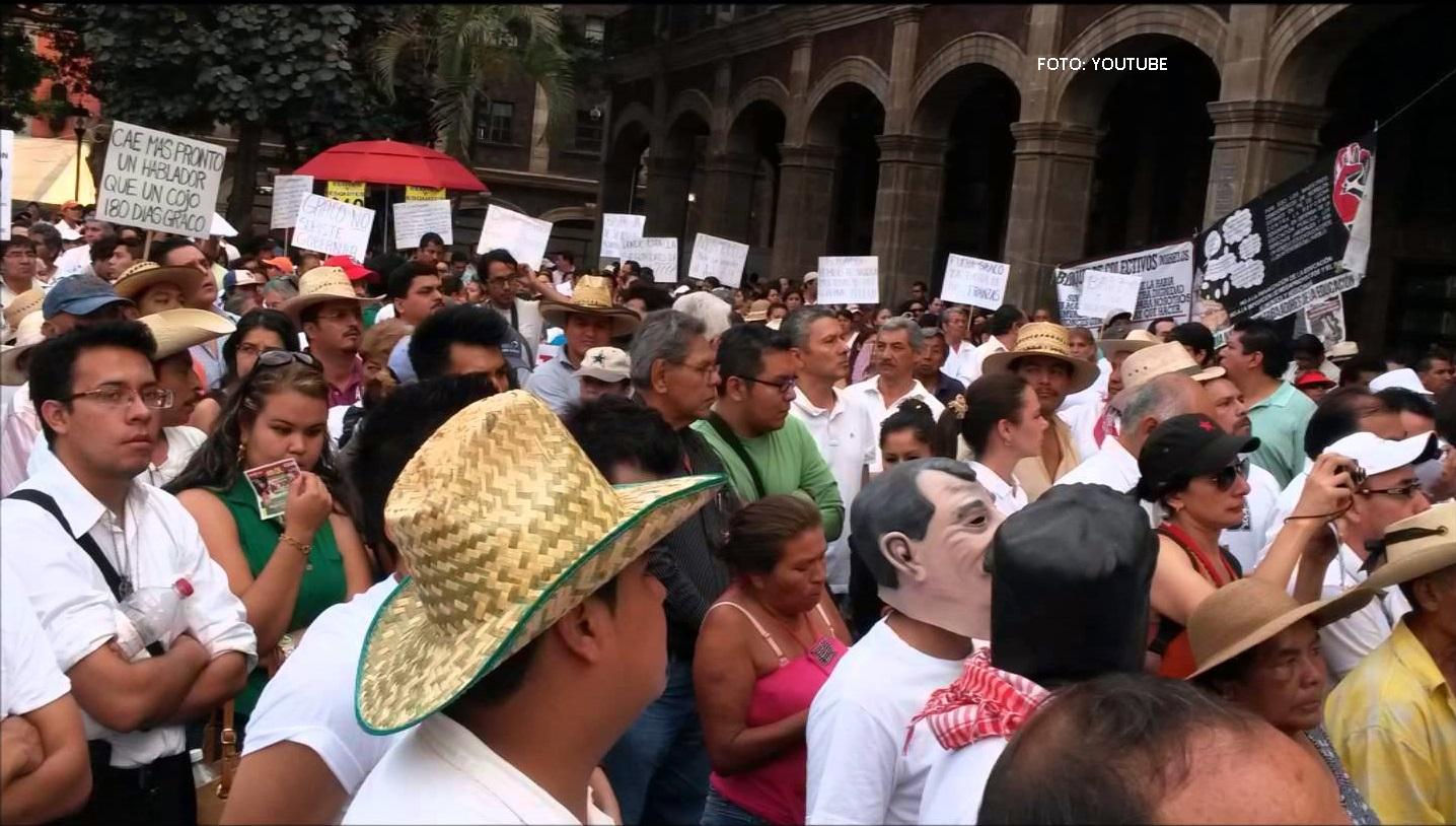 """Luchador Social Javier Cuayla: """"Deben suspender elecciones"""". (AUDIO)"""