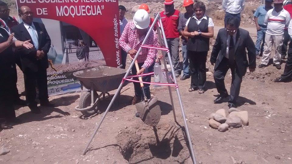 Se entregaron terrenos donde se construirá la futura Sede Institucional del Gobierno Regional.
