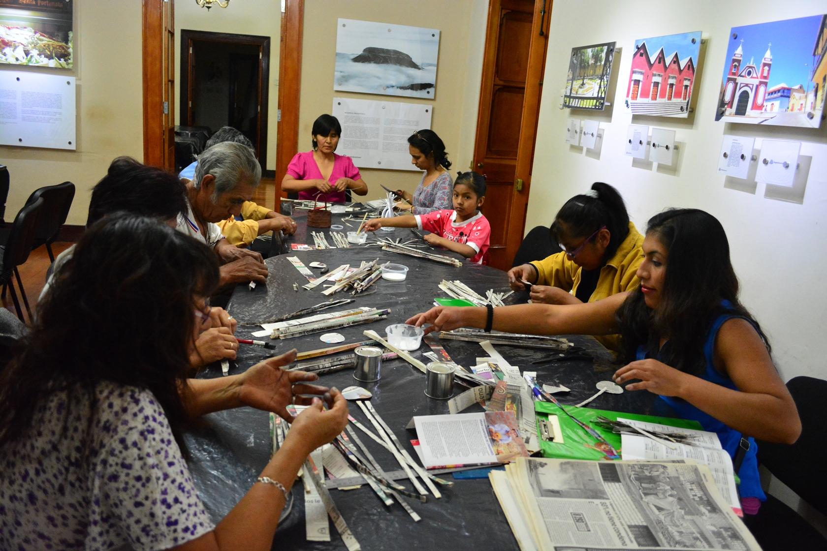 Anglo American: Promoviendo la salud y artesanía.