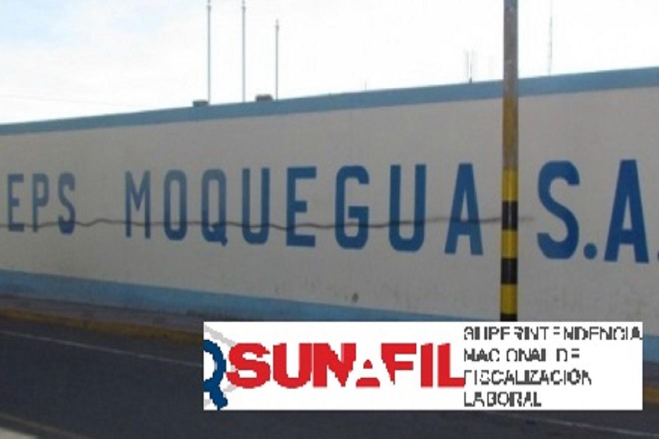 SUNAFIL Moquegua multa a la EPS. (AUDIO)