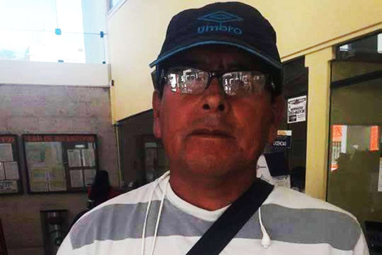 """Dirigente Jaime Quispe: """"El Alcalde vive en una burbuja"""". (AUDIO)"""