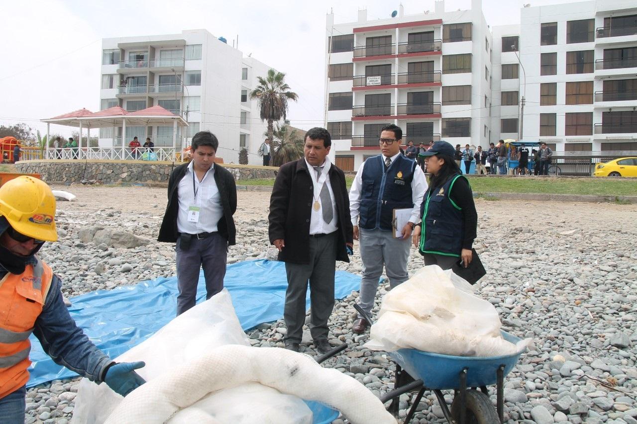 Fiscalía de Ilo investiga nueva contaminación del mar.