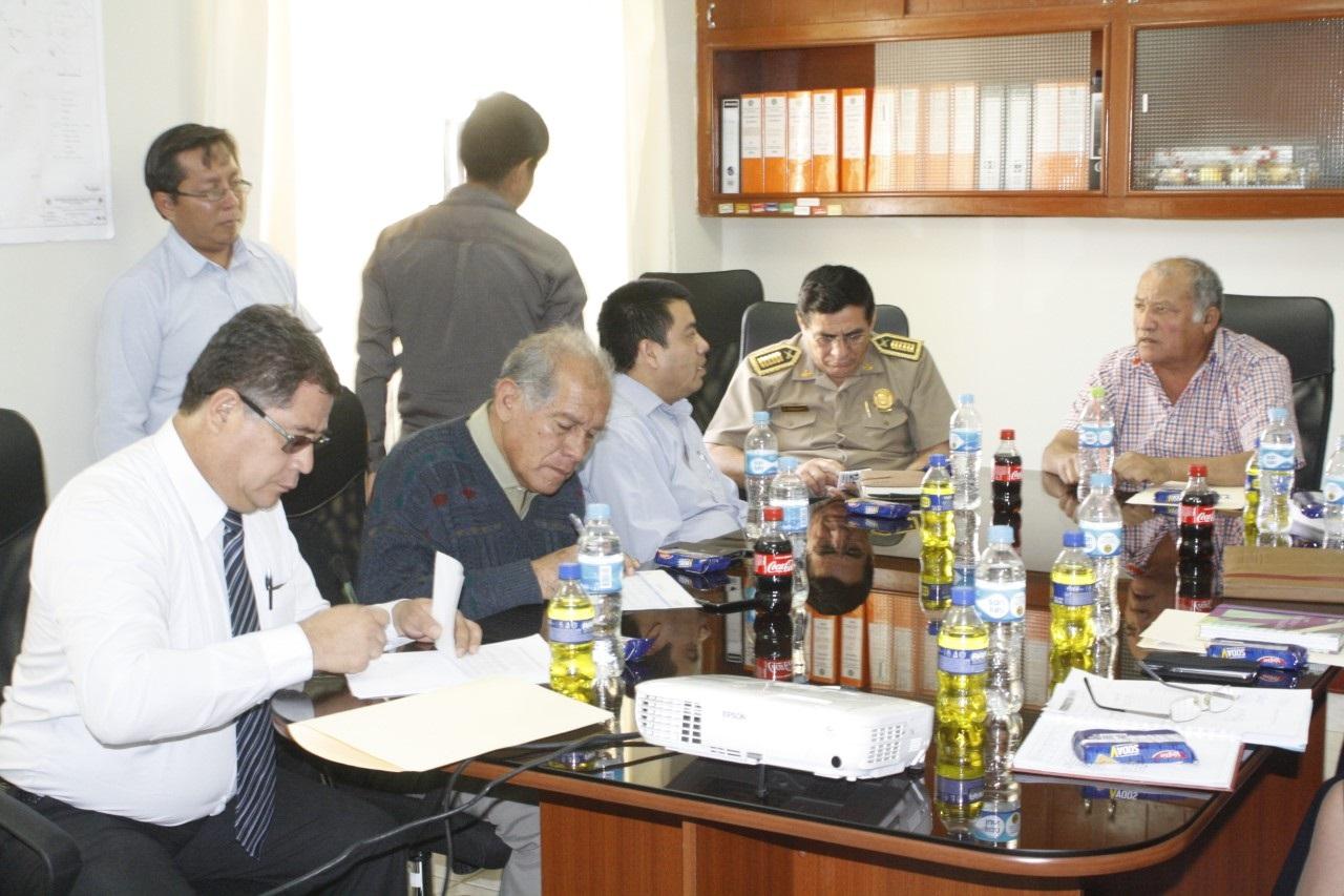 CORESEC presentó plan regional de seguridad ciudadana