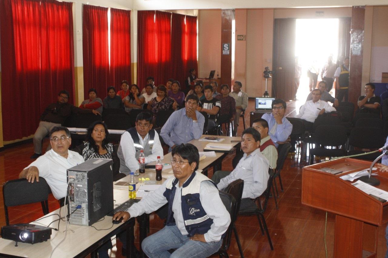 Consenso para propuesta distritalizacion de San Antonio.