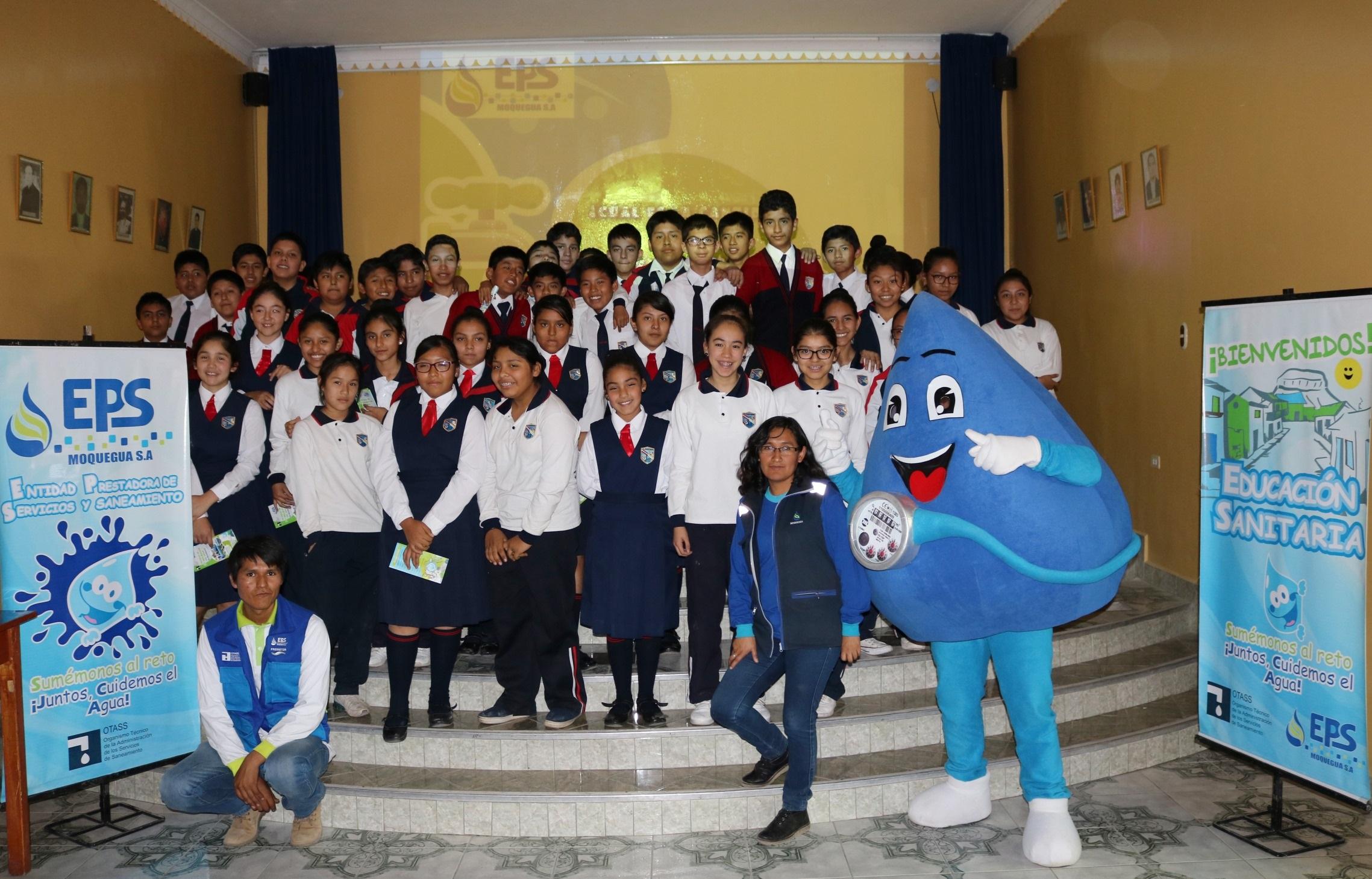 EPS Moquegua inicio ciclo de charlas en colegios