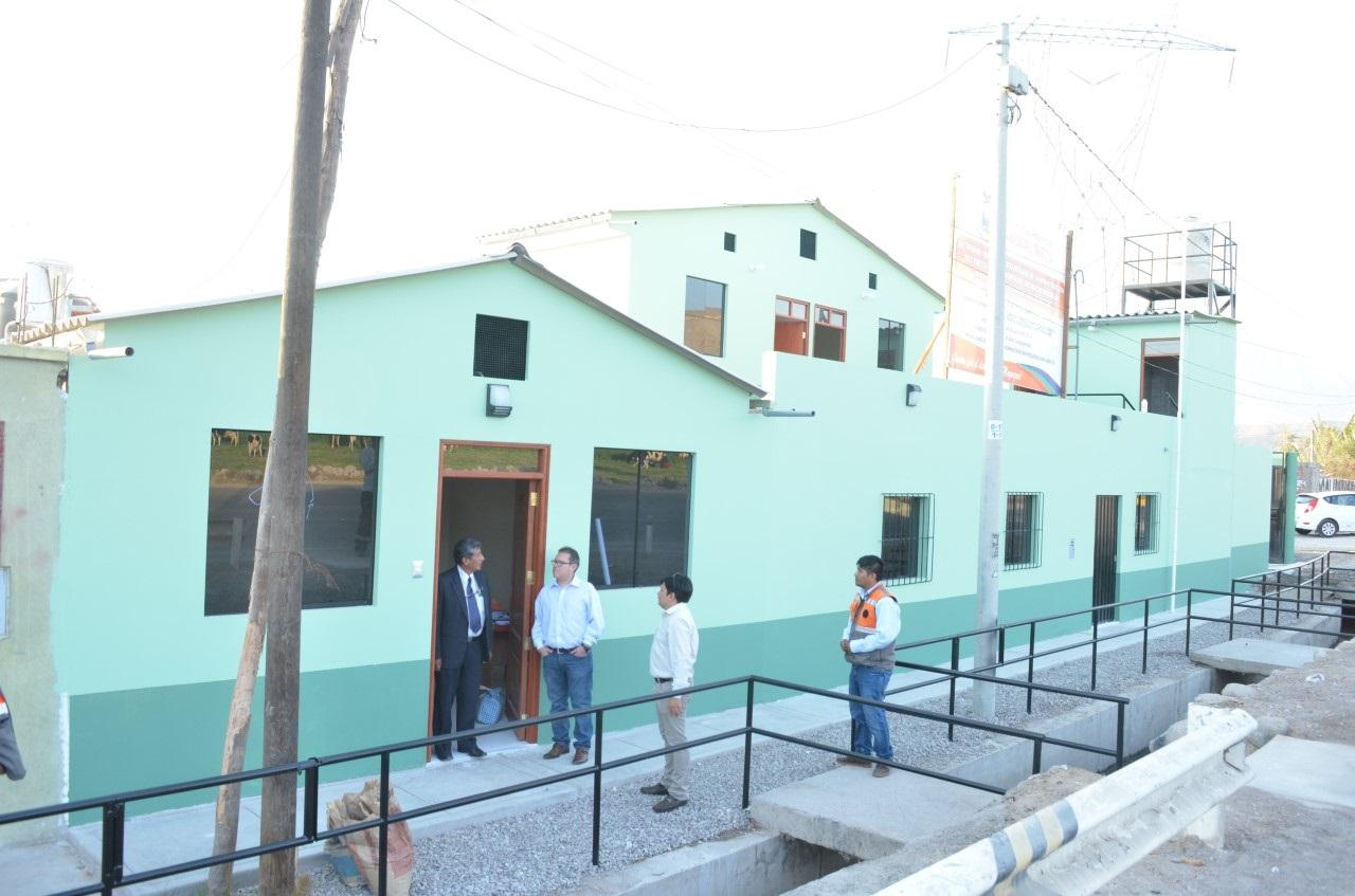 Con plata del pueblo recuperan puesto policial en Montalvo.