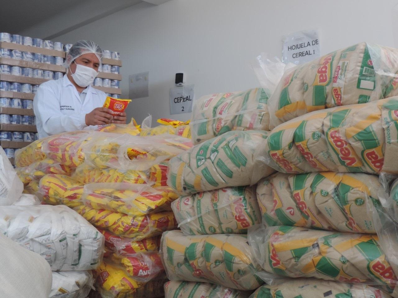 Verifican inocuidad de alimentos Qali Warma