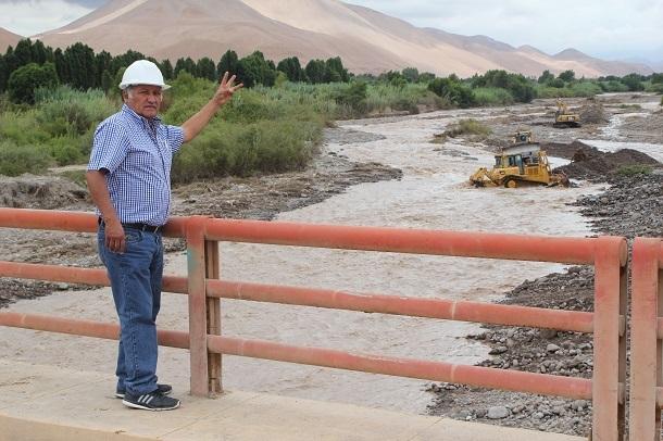 Gobierno Regional inicio mantenimiento en el valle.