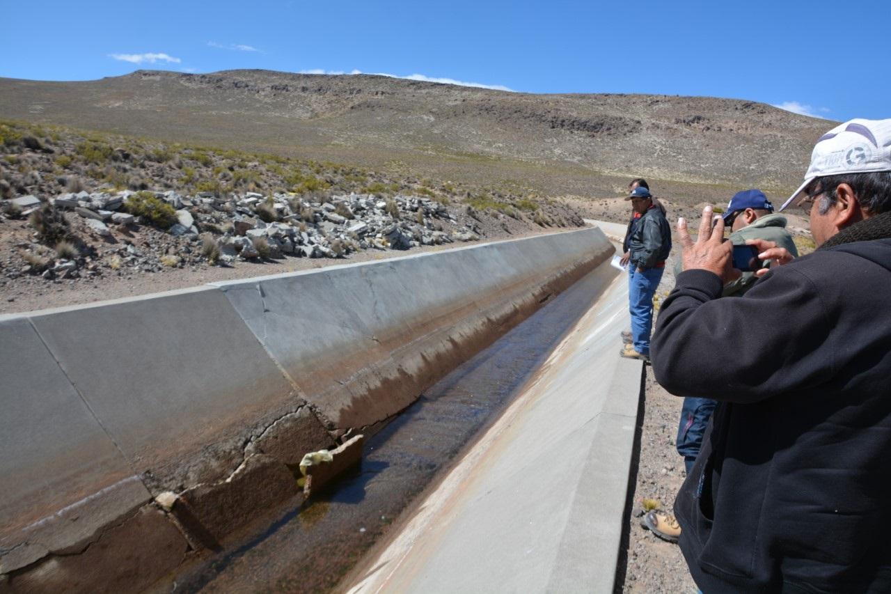 Directorio Pasto Grande visita laguna.
