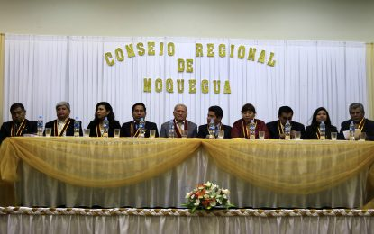 GOBERNADOR JAIME RODRÍGUEZ Y CONSEJO REGIONAL SE REUNIRÁN ESTE MIÉRCOLES 22.