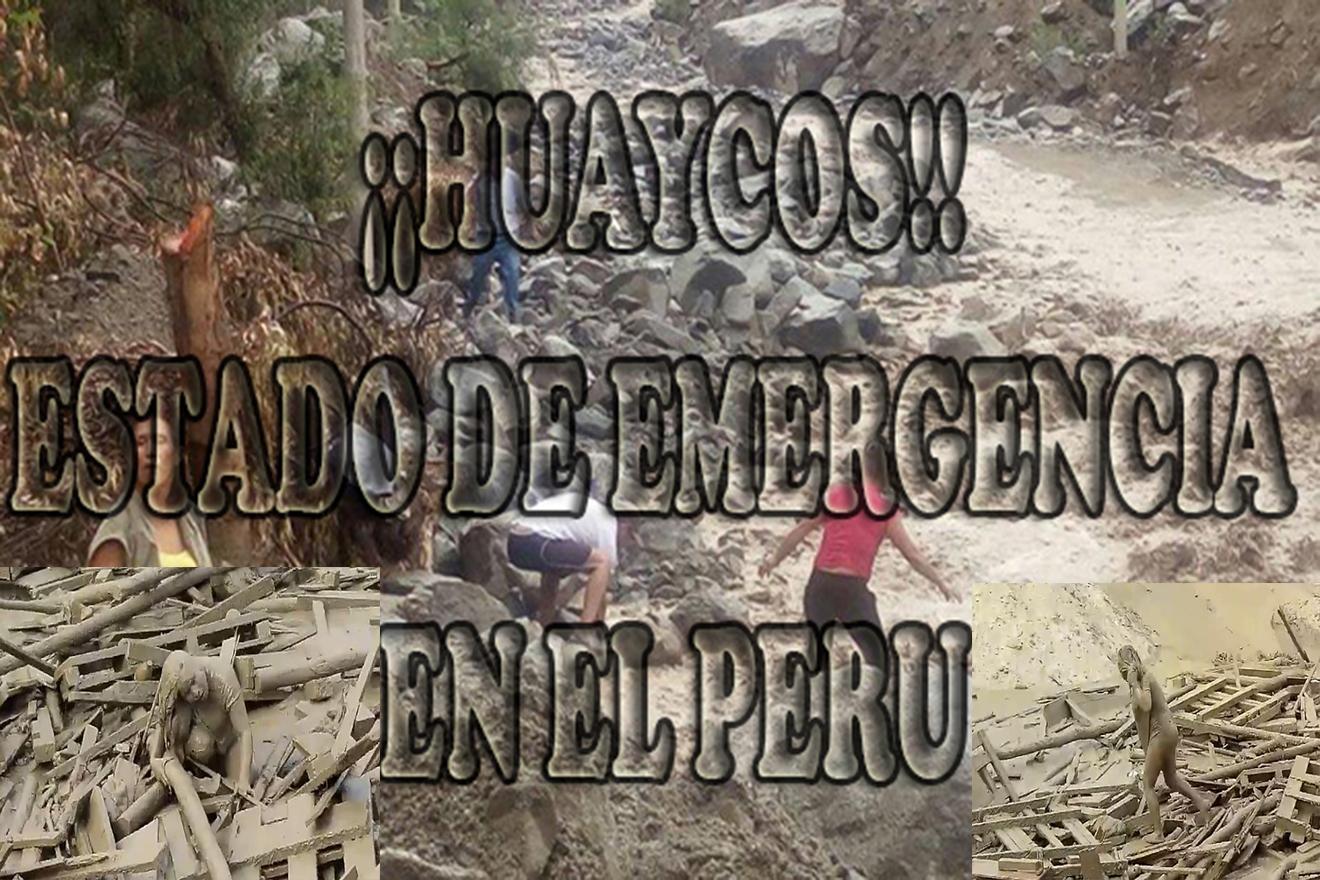 EL PERÚ ESTA EN EMERGENCIA: MUJER VALIENTE SOBREVIVE A DESLIZAMIENTO