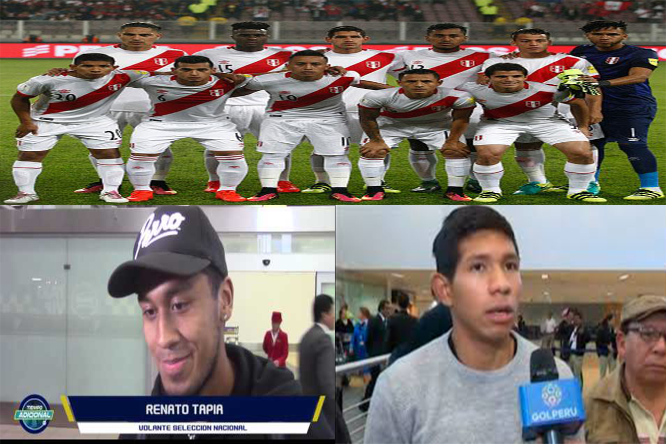 Selección Peruana completa: Renato Tapia y Edison Flores ya están en Lima