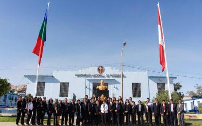 Celebran independencia del Perú en la UNAM.