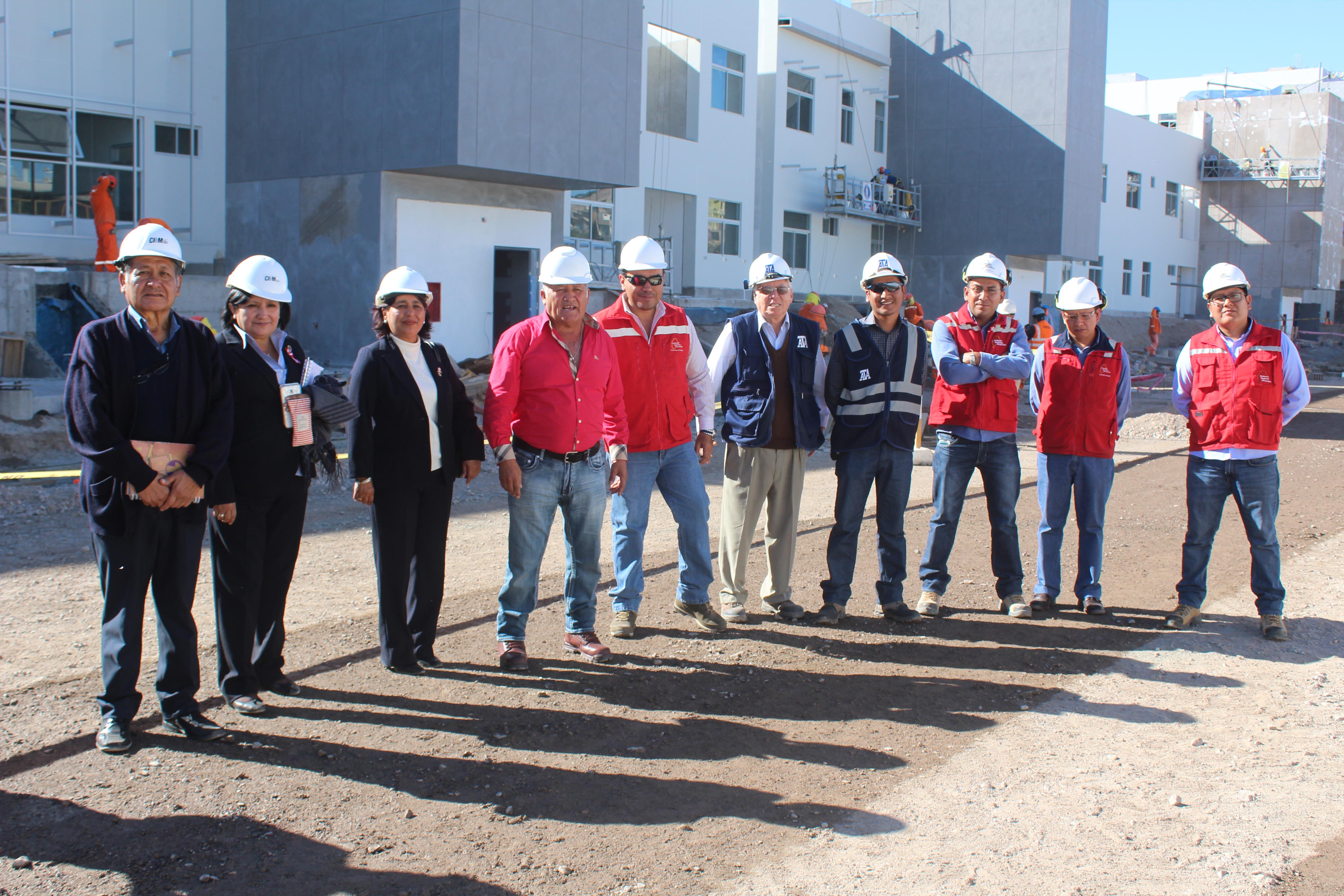 Construcción de Hospital de Moquegua, palabras del Gobernador Regional de Moquegua