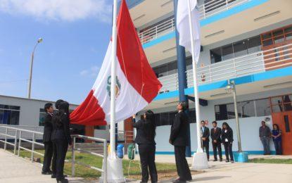 UNAM Ilo ceremonia por Fiestas Patrias.
