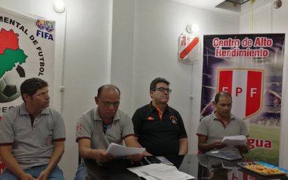 CENTRO DE ALTO RENDIMIENTO DE FÚTBOL MOQUEGUA, PROMESAS DEL FÚTBOL MOQUEGUANO
