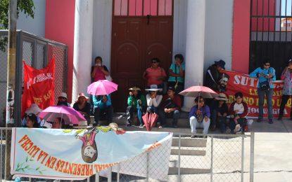 ASÍ SE VIVE LA HUELGA DE PROFESORES EN MOQUEGUA