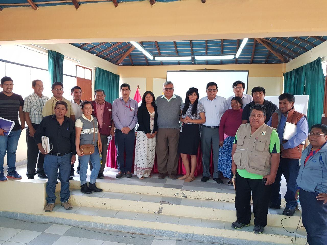 En reunión de la SBN con comuna del Algarrobal informan avances de transferencia del PROMUVI I