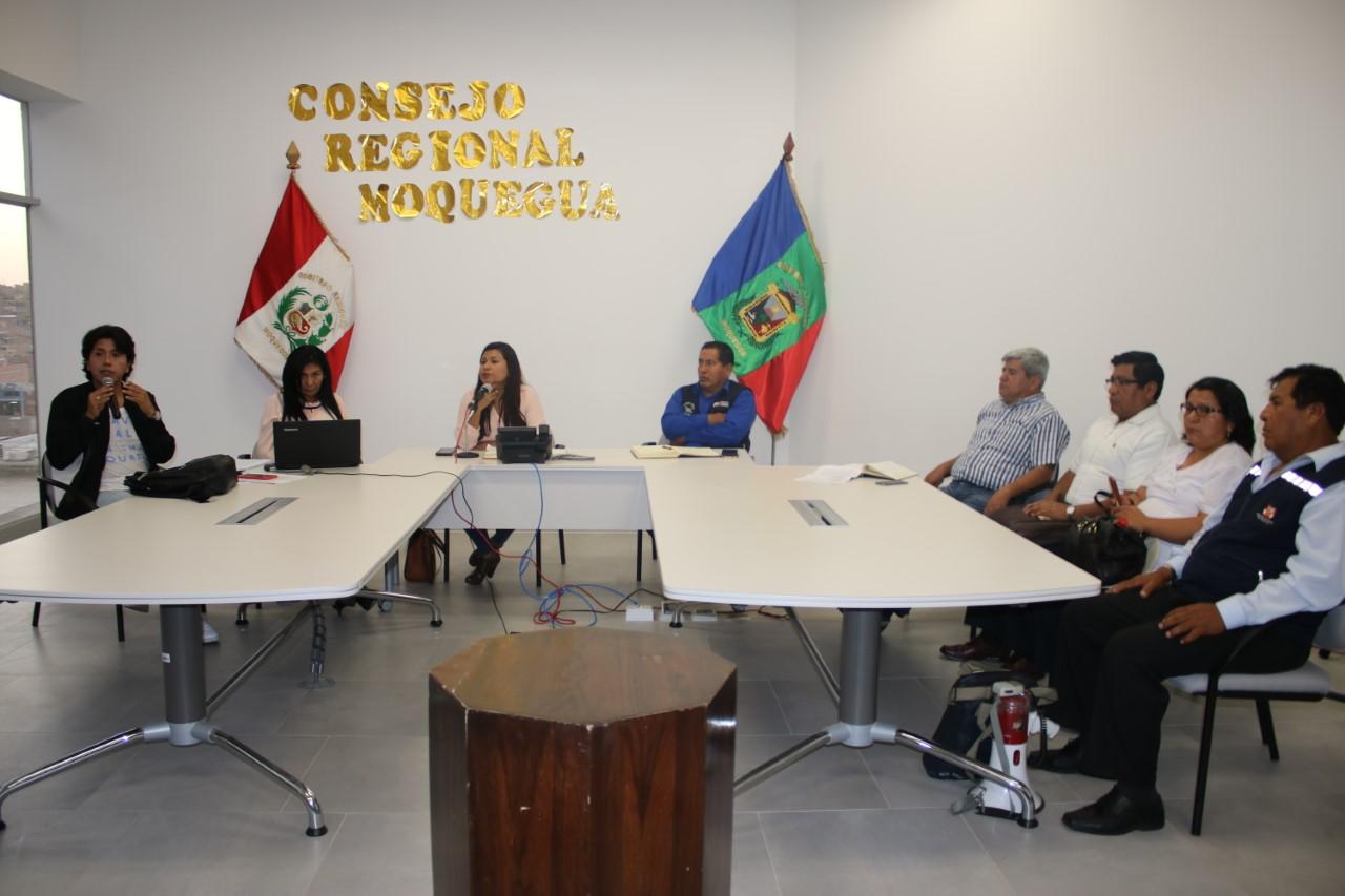 Consejo Regional viabilizó pedido de los trabajadores de la red salud Ilo.