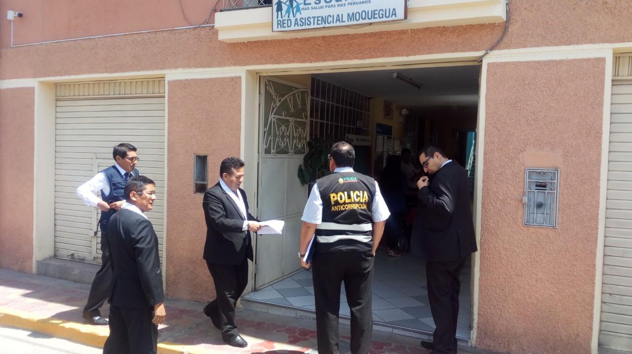 Fiscalía recoge información en ESSALUD