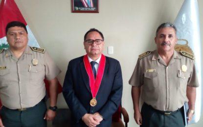 Fiscalía y policía renuevan compromiso de trabajo coordinado.