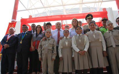 23,546 alumnos de la UGEL Mariscal Nieto iniciaron labores escolares.