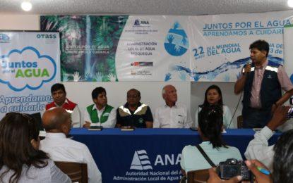 Realizan lanzamiento de la campaña por la semana del agua en Moquegua