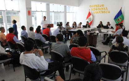Proyecto Educativo TIC Moquegua culminará al 100% en mayo