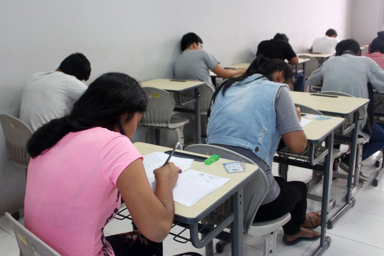 UNAM: realizan examen extraordinario.