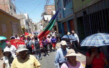 Protestas por suba de agua, en contra de la EPS y OTASS