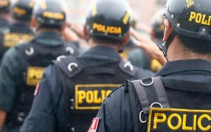 """Policía Nacional dispone """"Alerta Máxima"""" en todo el Perú por la crisis que viene pasando el País"""