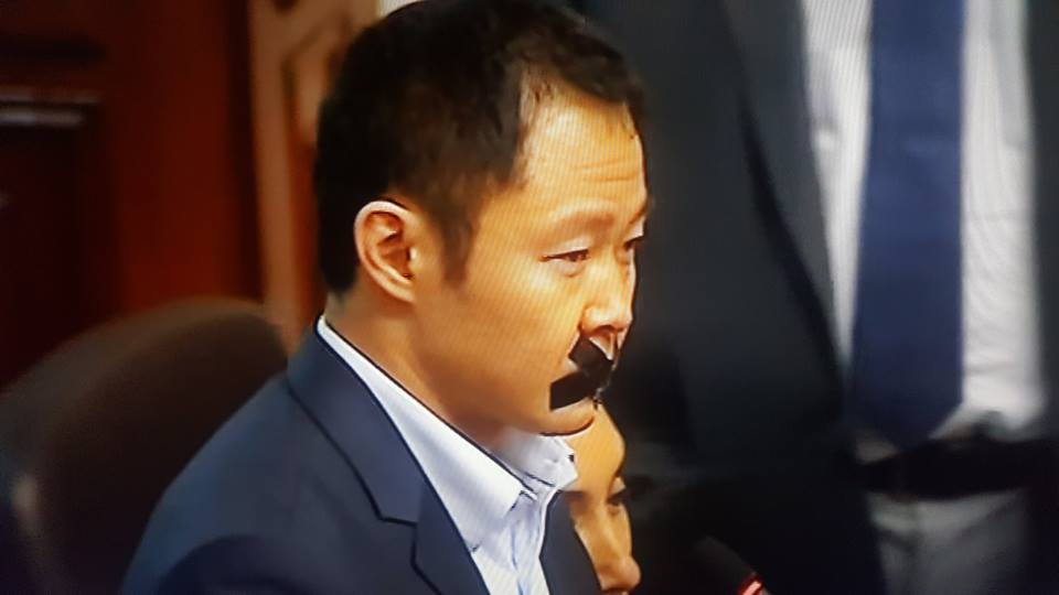 """Kenji Fujimori: """"Nosotros lo sacamos"""", en referencia al indulto de su padre"""