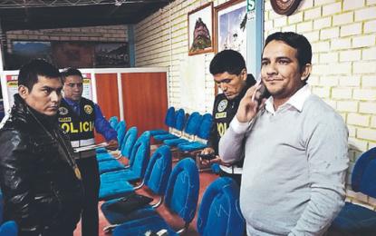 Tras recibir una coima de S/2,000.00 Fiscal es detenido.