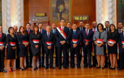 Juramentación de Nuevo Gabinete Ministerial