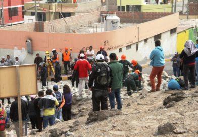 Integrantes de construcción civil impiden reinicio de obra en Ilo.