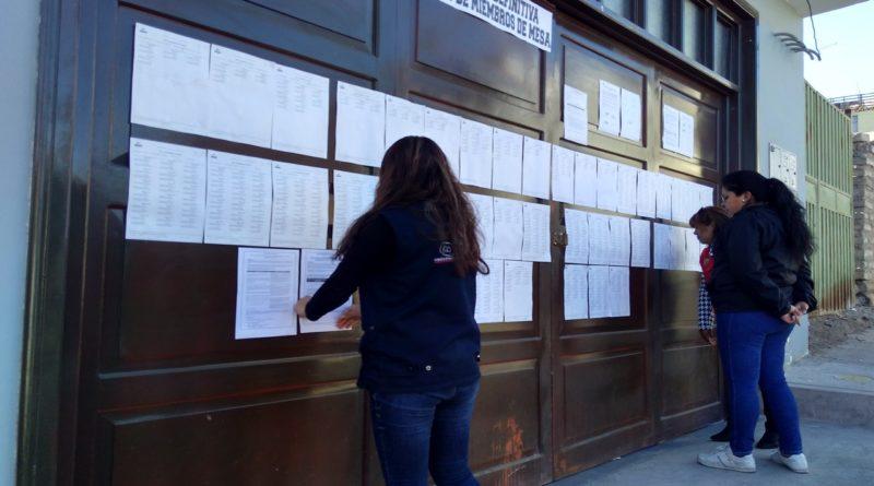 ODPE Mariscal Nieto publicó lista definitiva de miembros de mesa