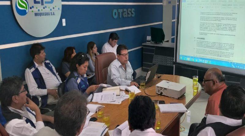 EPS Moquegua socializa propuesta de Revisión de Estudio Tarifario.