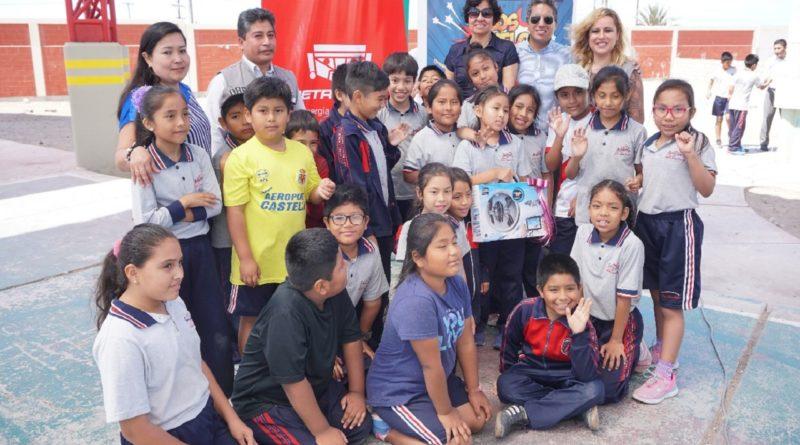 Petroperú premia a estudiantes de Ilo por promover protección y revaloración de adultos mayores.
