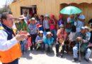 Alcalde propuso a agricultores conformar comisión para atendernecesidades urgentes.
