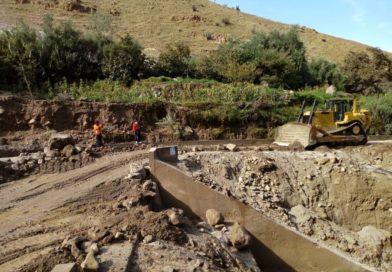 Fuertes lluvias continúan dañando en la Región Moquegua.