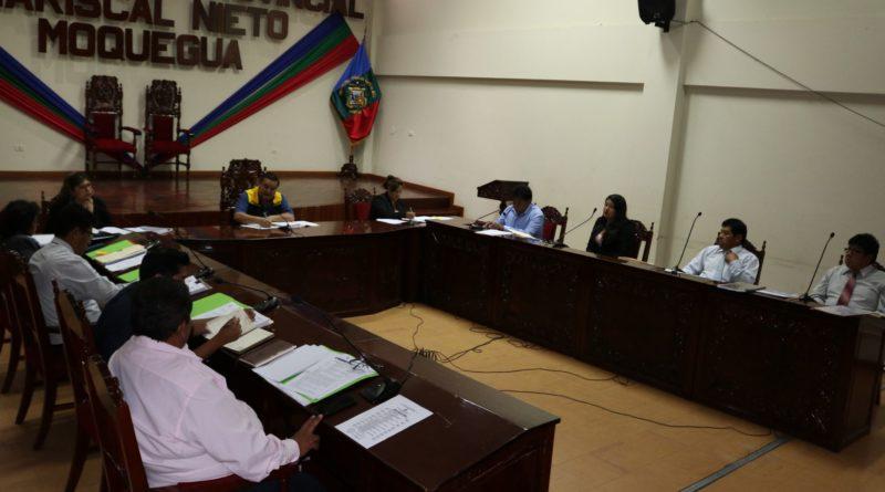 Convocan a sesión extraordinaria de concejo municipal para hoy jueves 14de marzo