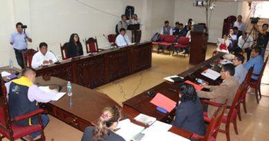 Sesión extraordinaria de concejo municipal jueves 02de mayo