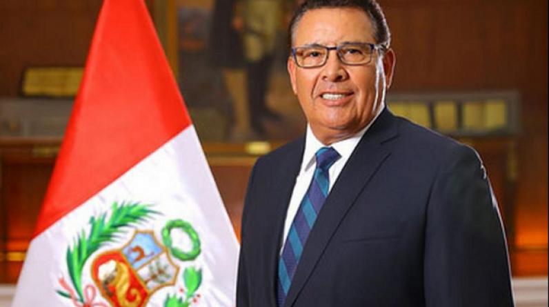 Falleció el Ministro de Defensa José Huerta. Estaba en Santa Maria de Nieva, Amazonas.