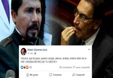 Gobernador de Arequipa volvió a emplazar a Presidente Martín Vizcarra